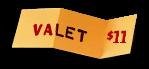 Valet Parking: $8